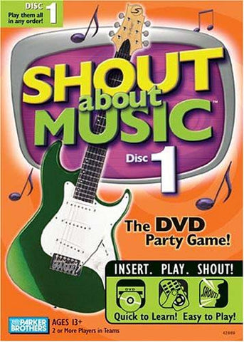Shout About Music - Disc 1 DVD Movie