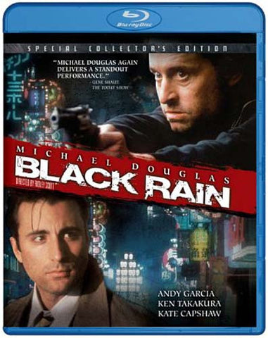 Black Rain (Special Collector's Edition) (Blu-ray) BLU-RAY Movie