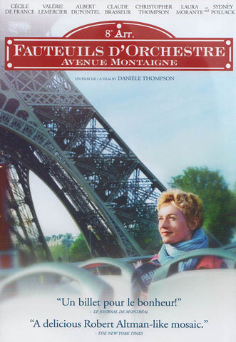 Fauteuils d'Orchestre (Avenue Montaigne) DVD Movie