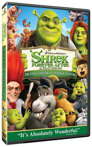 Shrek Forever After - The Final Chapter (Bilingual) DVD Movie