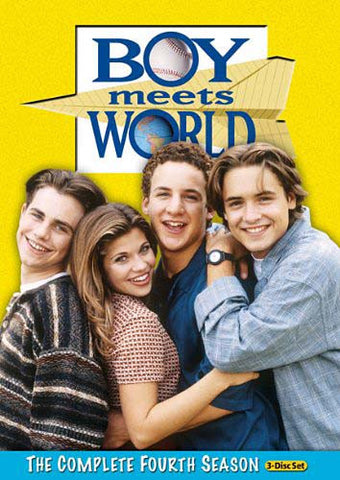 Boy Meets World - The Complete (4th)Fourth Season (Boxset) DVD Movie