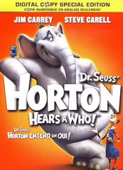 Dr. Seuss Horton Hears A Who! (Special Edition + Digital Copy) (Bilingual)