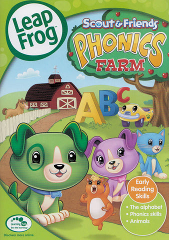 Leap Frog- Phonics Farm (ALL) DVD Movie