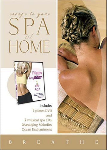 Spa at Home - Pilates for Any Body + 2 CDs - Massaging Melodies and Ocean Enchantment (Boxset) DVD Movie