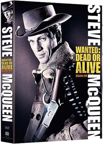 Wanted: Dead or Alive - Season One (Steve McQueen) (Boxset) DVD Movie