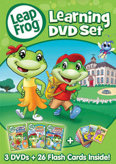 Leap Frog - Learning DVD Set(Let's Go to School/Letter Factory/Talking Words Factory) (Boxset)