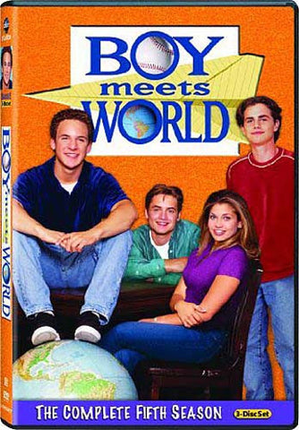 Boy Meets World - The Complete (5th) Fifth Season (Boxset) DVD Movie
