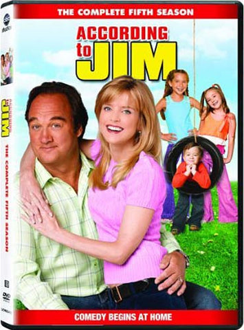 According to Jim - The Complete Fifth (5th) Season (Boxset) DVD Movie