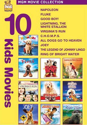 MGM 10 Kids Movies (Napoleon.......Ring of Bright Water) (Boxset) DVD Movie