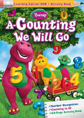 Barney - A Counting We Will Go (Learning Edition DVD + Activity Book)