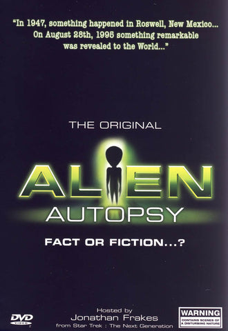 Alien Autopsy: Fact or Fiction (CA Version) DVD Movie