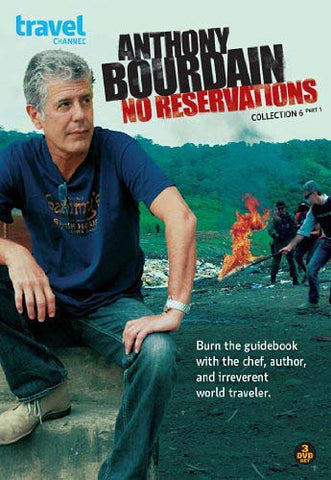 Anthony Bourdain: No Reservations Collection 6/Part 1 DVD Movie