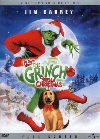 Dr. Seuss' How the Grinch Stole Christmas - Collector's Edtion (Full Screen) DVD Movie