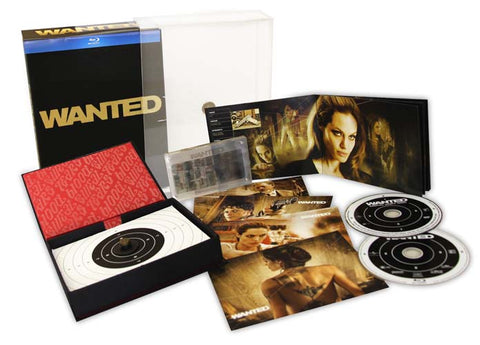 Wanted Limited Edition Collector's Set (Blu-ray) (Boxset) BLU-RAY Movie