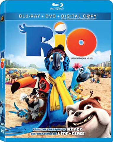 Rio (Blu-ray + DVD + Digital Copy) (Blu-ray) (Bilingual) BLU-RAY Movie