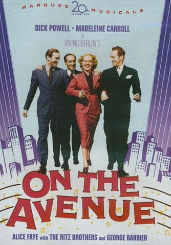 On the Avenue DVD Movie