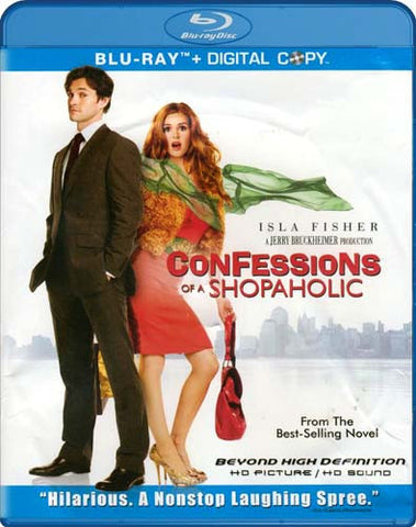 Confessions of a Shopaholic (Blu-ray) BLU-RAY Movie