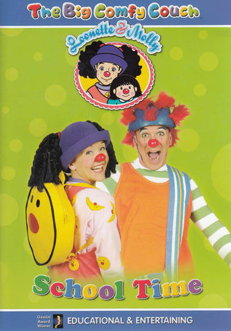 The Big Comfy Couch - School Time DVD Movie