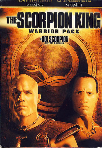The Scorpion King Warrior Pack / Le Roi Scorpion Coffret Guerrier (Boxset) DVD Movie