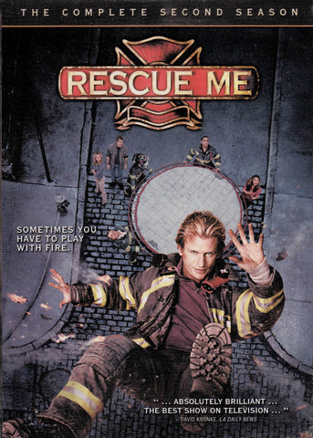 Rescue Me: The Complete Second Season (Boxset) DVD Movie