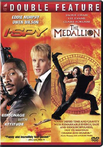 I Spy / Medallion (Double Feature) DVD Movie