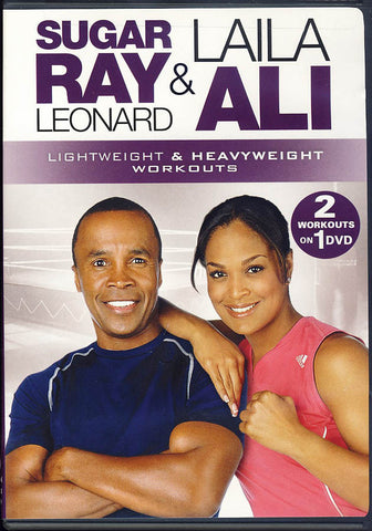 Sugar Ray Leonard And Laila Ali - 2 Workouts on 1 DVD Movie