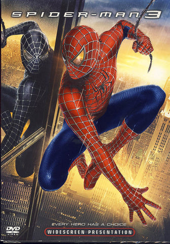 Spider-Man 3 (Widescreen) DVD Movie