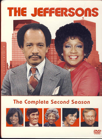 The Jeffersons - The Complete Second Season (Boxset) DVD Movie