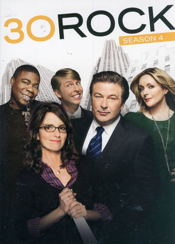 30 Rock: Season 4 (Boxset) DVD Movie