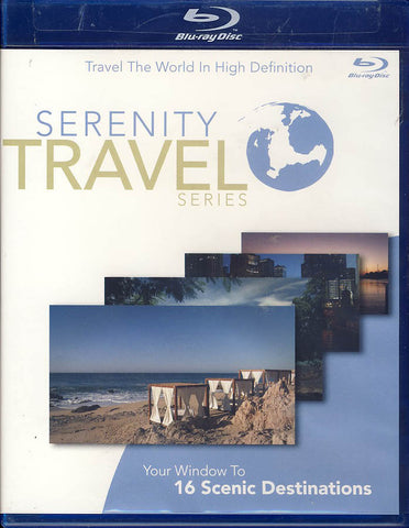 Serenity Travel Series Volume One (1) (Blu-ray) BLU-RAY Movie