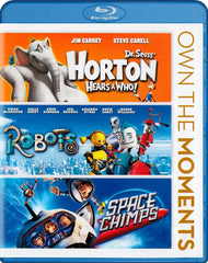 Dr. Seuss Horton Hears a Who!/ Robots / Space Chimps (Blu-ray) (Boxset)