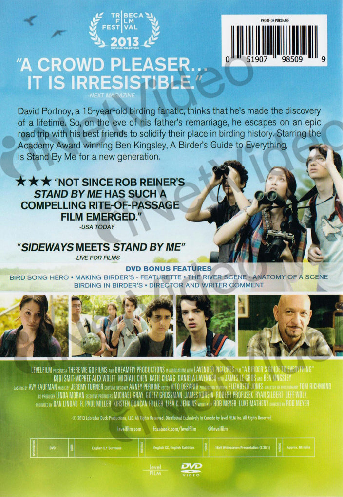 A Birder S Guide To Everything On Dvd Movie