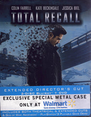 Total Recall - Extended Director s Cut (SteelBook ) (Blu-ray + DVD + Digital Copy) (Blu-ray)