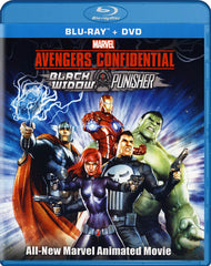 Avengers Confidential - Black Widow & Punisher (Blu-ray / DVD) (Blu-ray)