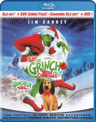 Dr. Seuss - How the Grinch Stole Christmas (Bilingual) (Blu-ray)