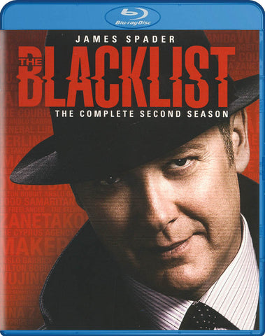 The Blacklist : The Complete Season 2 (Blu-ray) BLU-RAY Movie