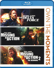 La Delta Force / Missing In Action / Missing In Action 2-The Beginning (Triple Feature) (Blu-ray)