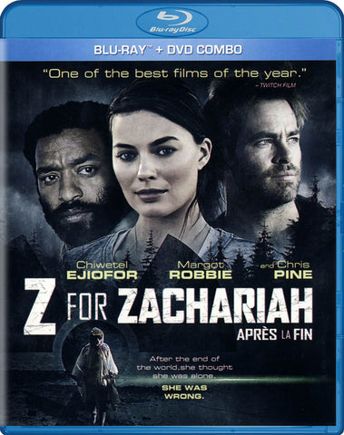 Z For Zachariah (Blu-ray + DVD) (Blu-ray) (Bilingual) BLU-RAY Movie