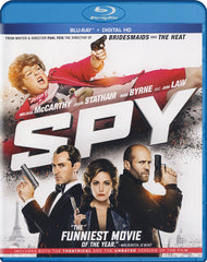 Spy (Theatrical and Unrated Version) (Blu-ray + Digital HD) (Blu-ray)