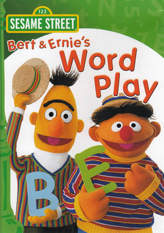 Bert and Ernie s Word Play - (Sesame Street) (Green Spine) DVD Movie