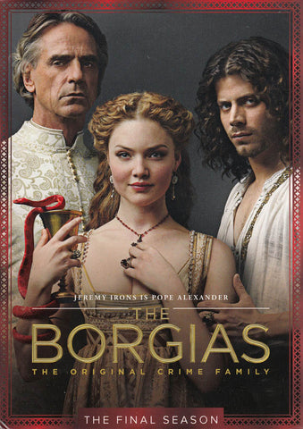 The Borgias - Season 3 (Final Season)(Boxset) DVD Movie