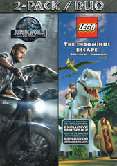 Jurassic Park / Lego - The Indominus Escape (Bilingual) (2-Pack)
