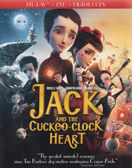 Jack and The Cuckoo-Clock Heart (Blu-ray + DVD + Copie numérique) (Blu-ray)