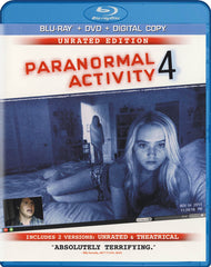Paranormal Activity 4 (Unrated Edition) (Blu-ray + DVD + Digital Copy) (Blu-ray)