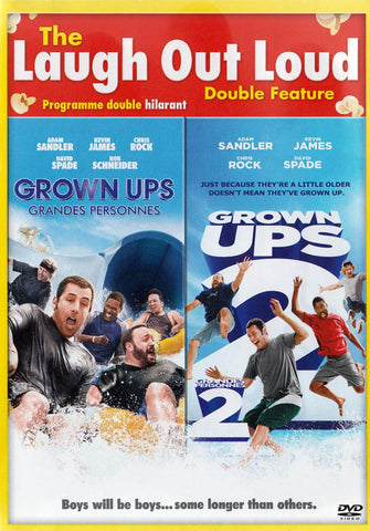Grown Ups / Grown Ups 2 (The Laugh Out Loud - Double Feature) (Bilingual) DVD Movie
