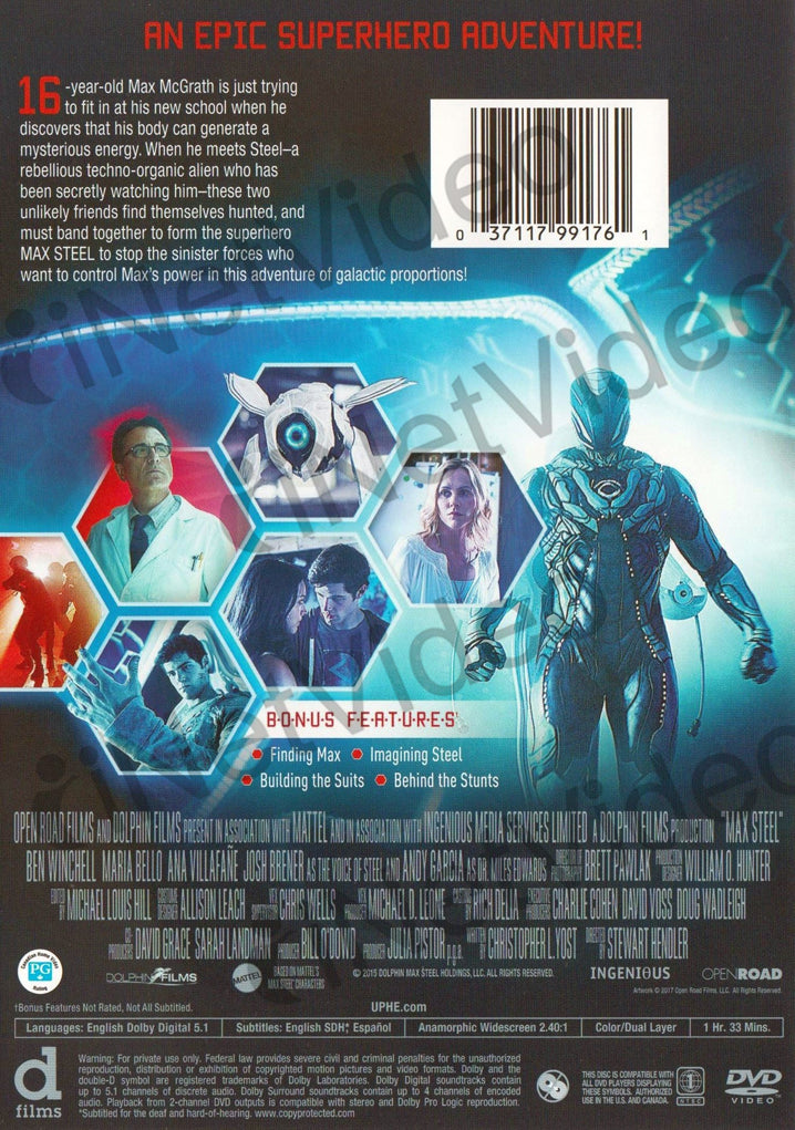 max steel english movie
