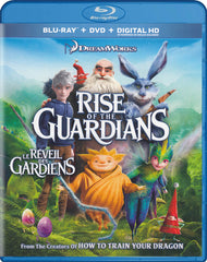 Rise Of The Guardians (Cloud White Cover) (Blu-ray / DVD / Digital HD) (Blu-ray) (Bilingual)