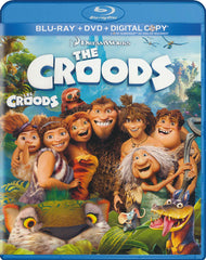 The Croods (Blu-ray / DVD / Digital HD) (Blu-ray) (Bilingual)