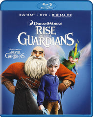 Rise Of The Guardians (Blu-ray / DVD / Digital HD) (Blu-ray) (Bilingual)