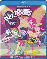 My Little Pony Equestria Girls - Rainbow Rocks (Blu-ray + DVD) (Blu-ray)